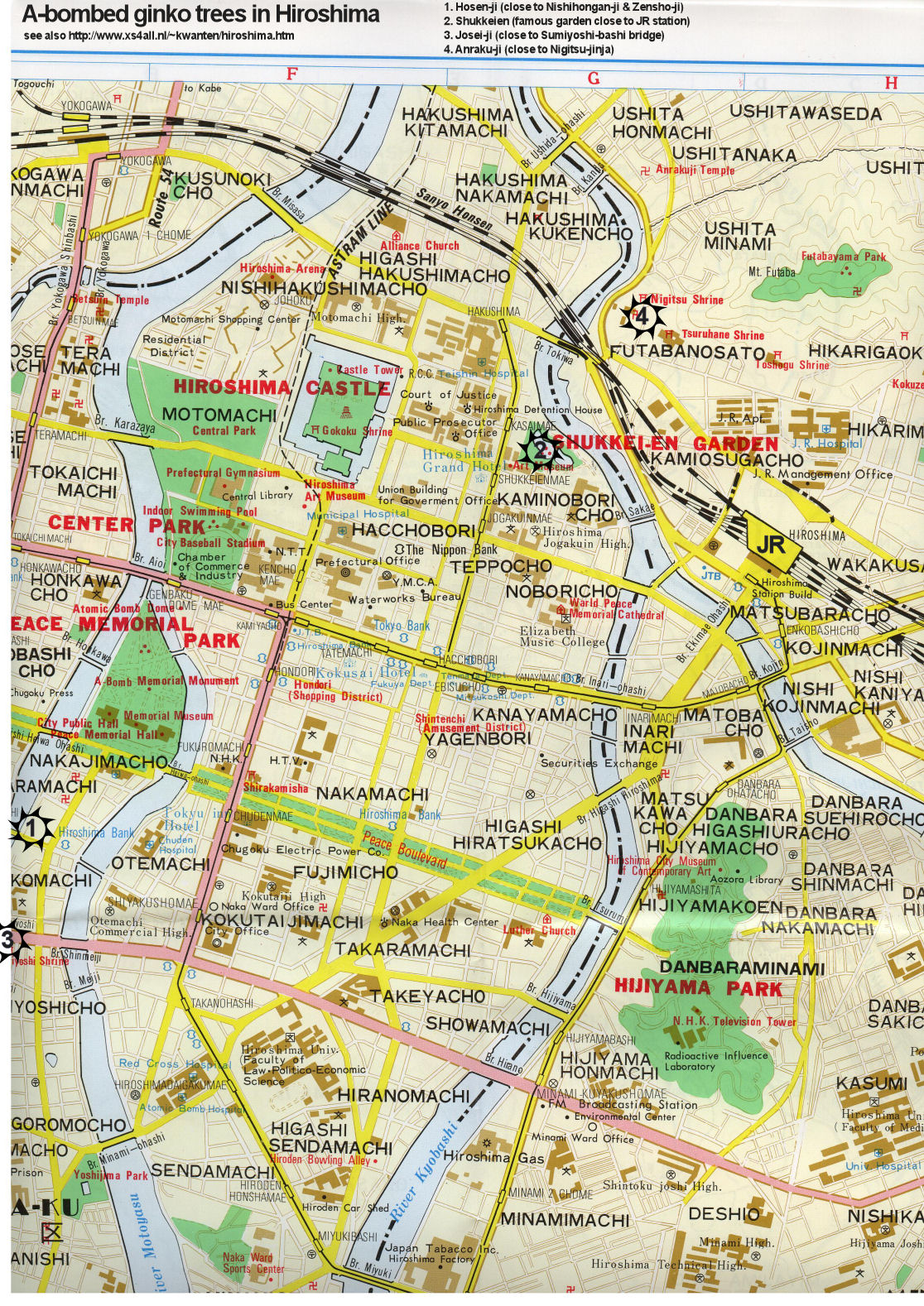Links on japan hiroshima peace site also about the peace museum park with a bomb dome world heritage unesco gumiabroncs Gallery